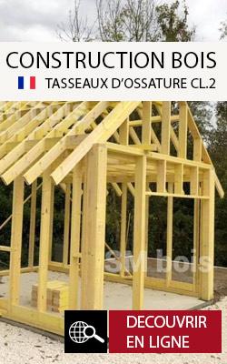 tasseaux ossature